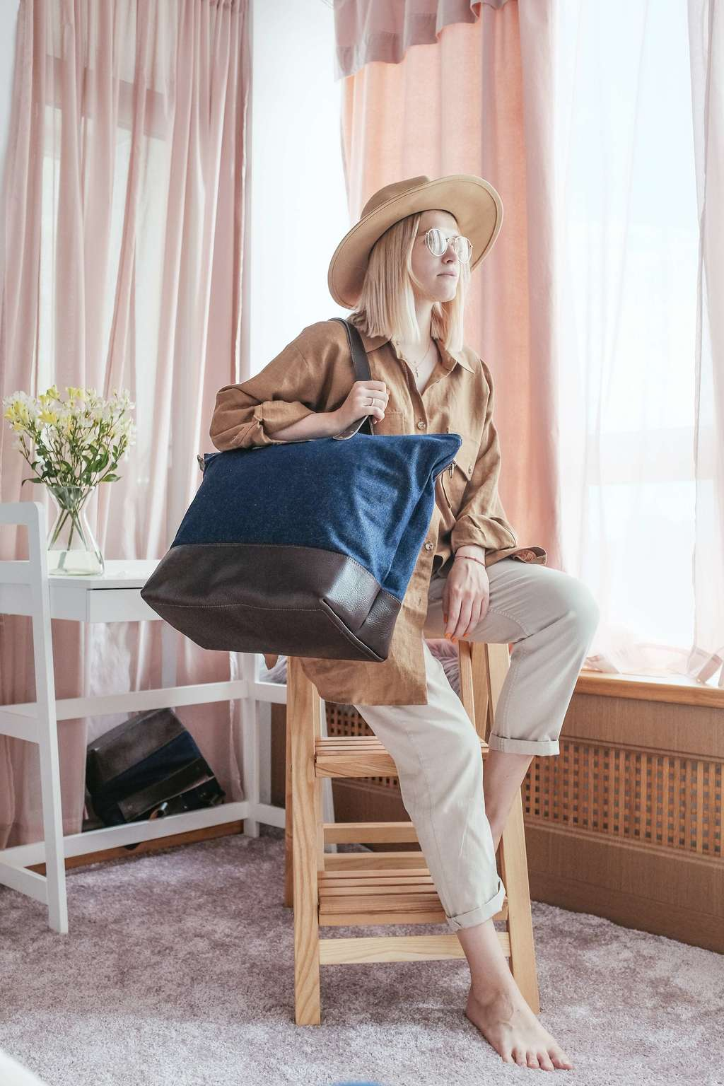 Сумка Weekender Bag Denim