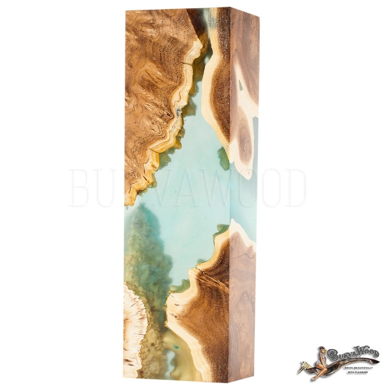 "Preorder Obliquepenholder  ""Morning in the Blue Lagoon"""