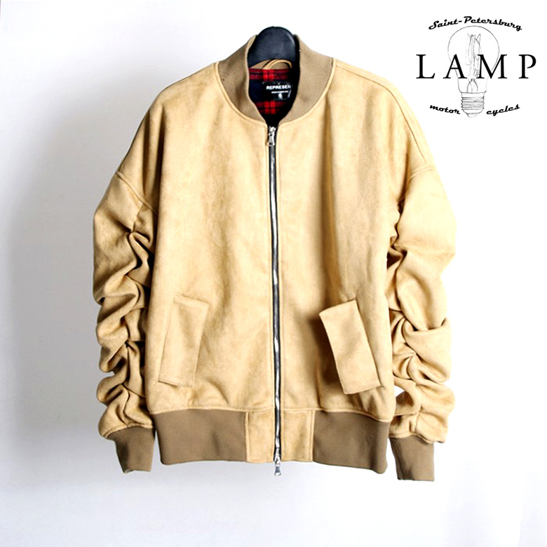 Leather bomber 39862