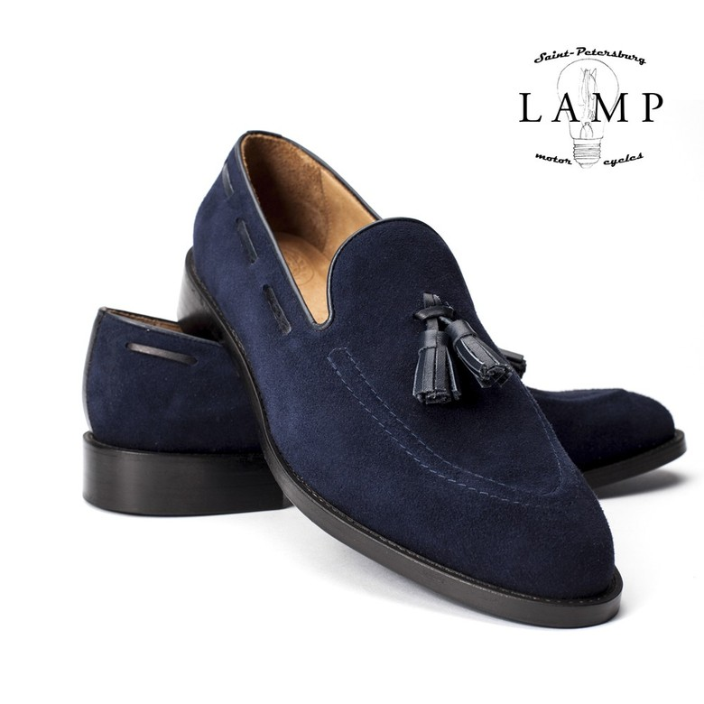 LOAFERS SUEDE BLUE