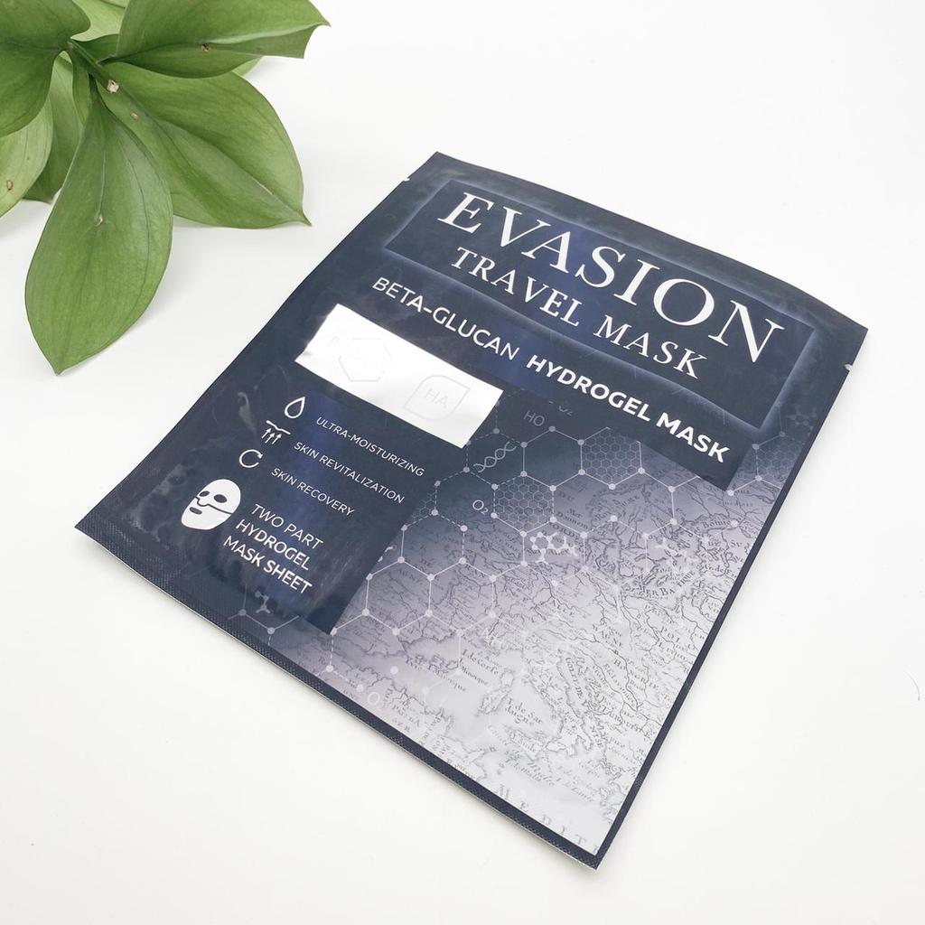 Evasion Travel Mask, Beta-glucan Hydrogel Mask  Гидрогелевая маска