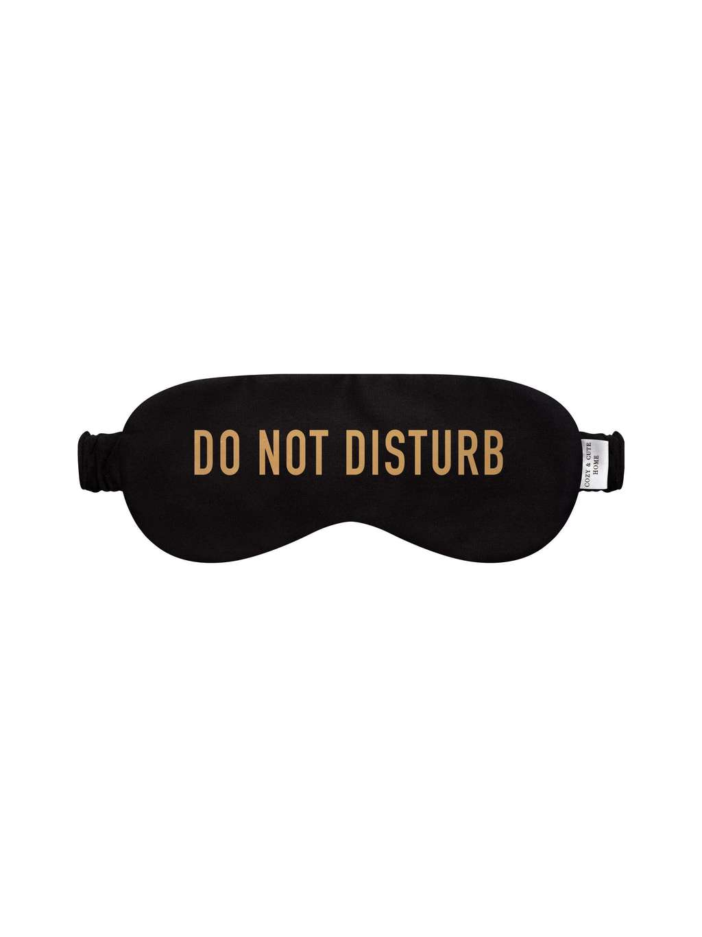 "Маска для сна ""Do not disturb"" черная"