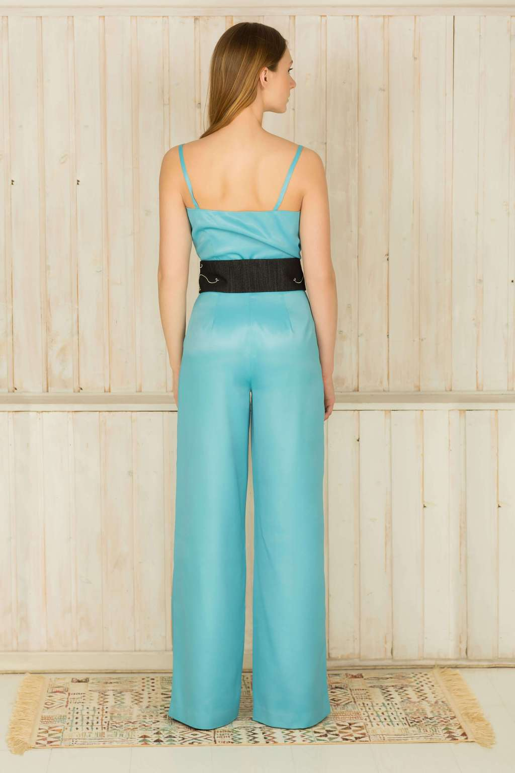 Wrap effect jumpsuit