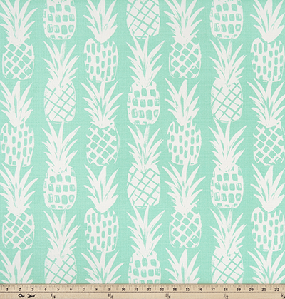 OUTDOOR FABRIC - PINEAPPLE SURFSIDE LUXE POLYESTER