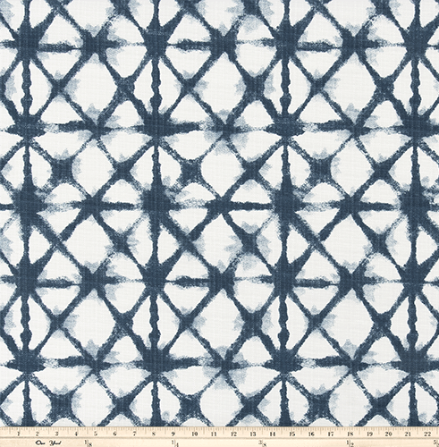 OUTDOOR FABRIC - SHIBORI NET OXFORD LUXE POLYESTER