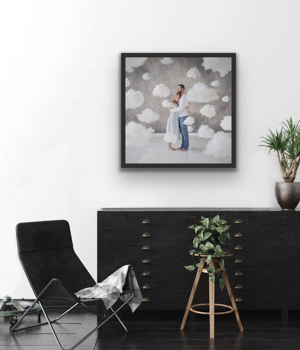 Love In The Clouds  - Framed Limited Edition Fine-Art Print