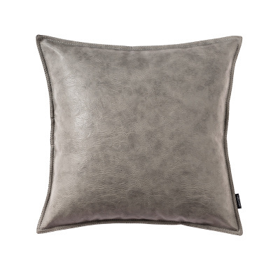 Dark Selection of Leather Pillows
