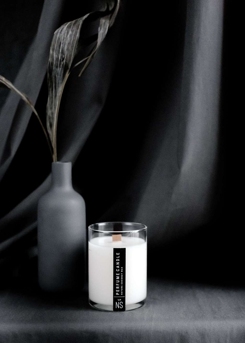 SOY WAX CANDLE 300 ml BLACK
