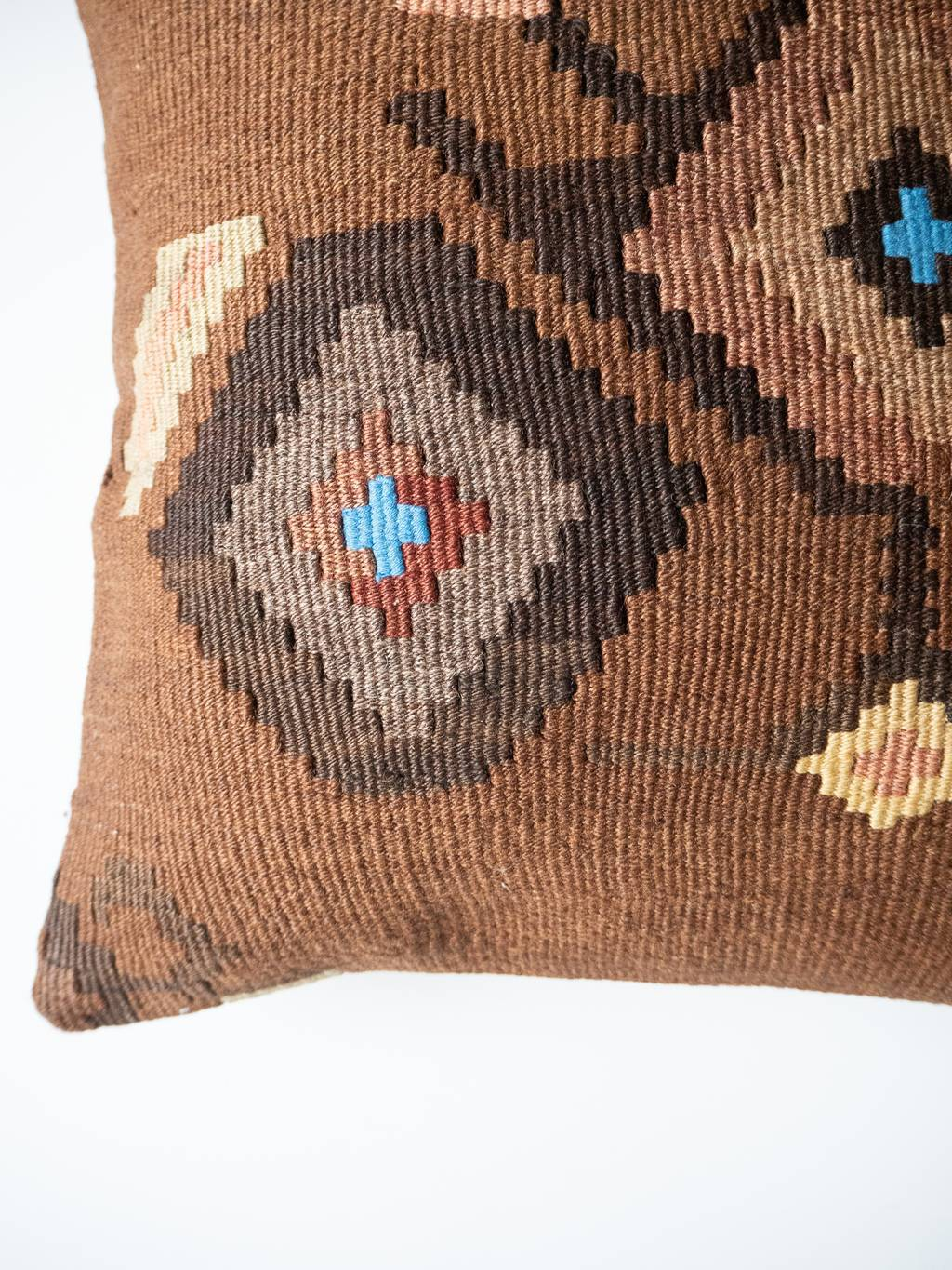 Kilim cushion Rhombus