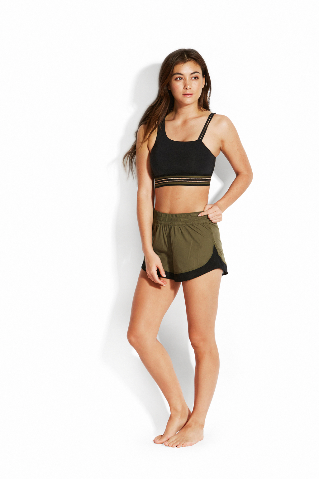 Топ Seafolly Las Palmas Active Crop Top
