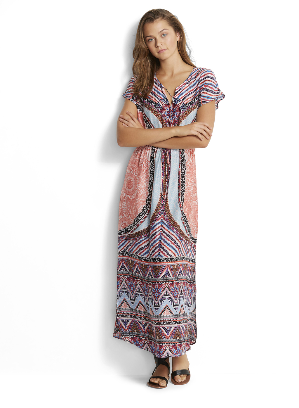 Платье Seafolly Sahara Nights Maxi Kaftan