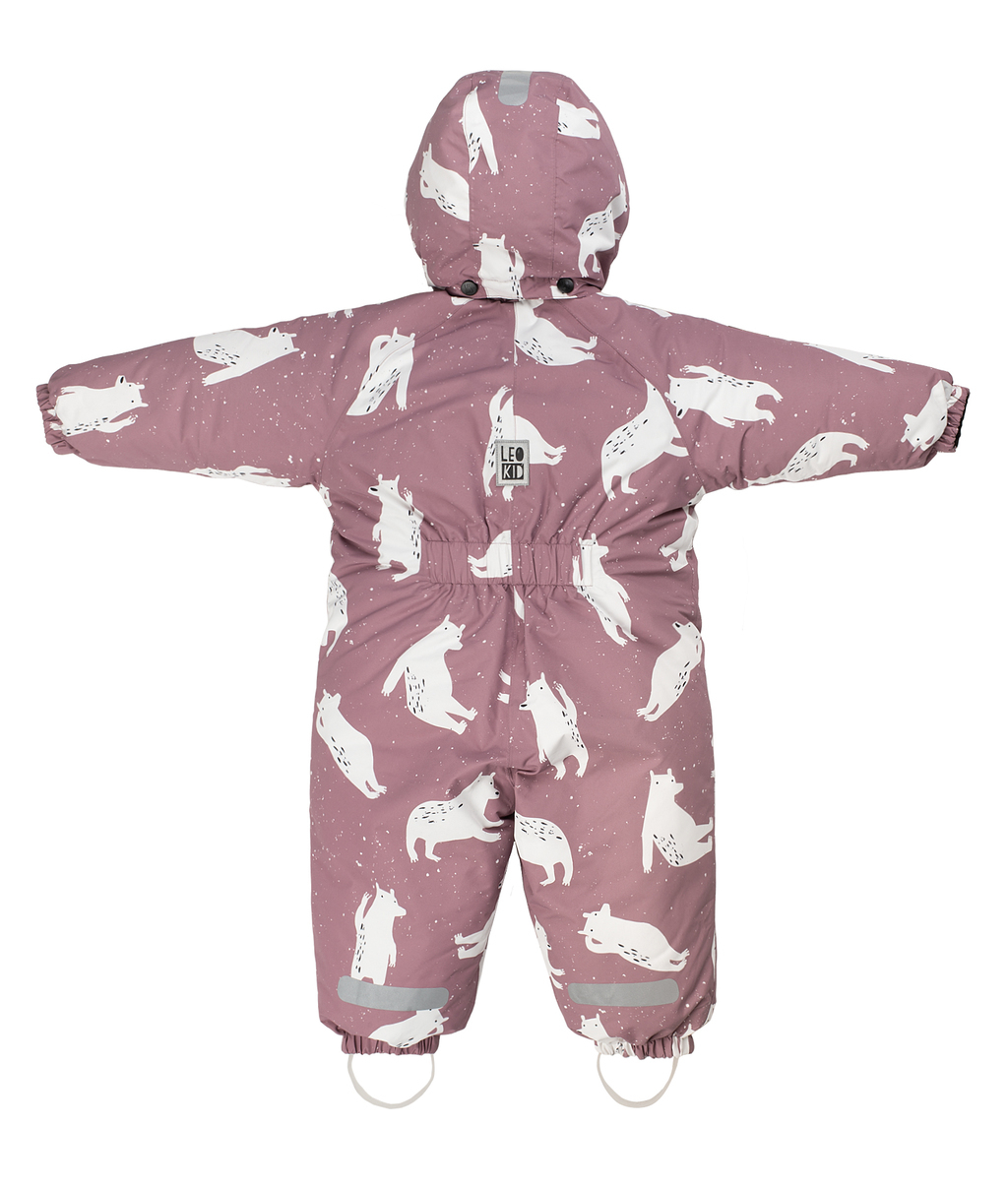 Комбинезон Leokid Dreamy Bears, розовый