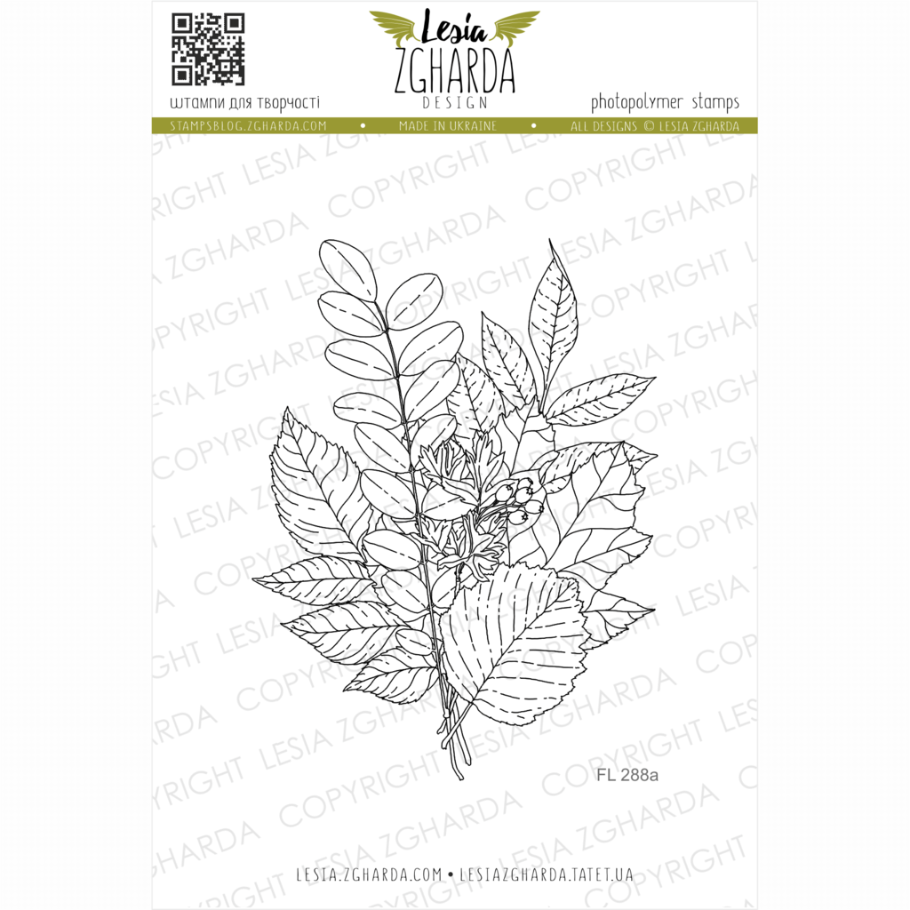 Lesia Zgharda Stamps {FL288a} Fall leaves stamps. A lot of nature stamps products, fall leaves stamps, leaf stamps, floral stamp, clean and simple stamping, autumn stamp, botanical stamps and others clear stamp you can find in the store lesia.zgharda.com Welcome!