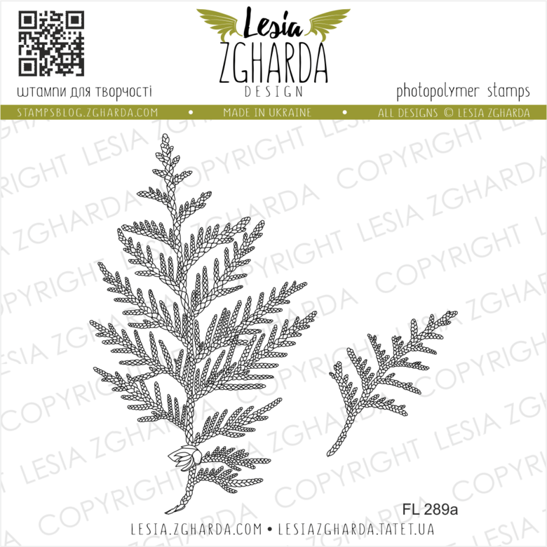 Lesia Zgharda Stamps {FL289a} Stamp Set white cedar leaf. A lot of nature stamps, leaves stamps, leaf stamps, floral stamp and others clear stamp you can find in the store lesia.zgharda.com Welcome!