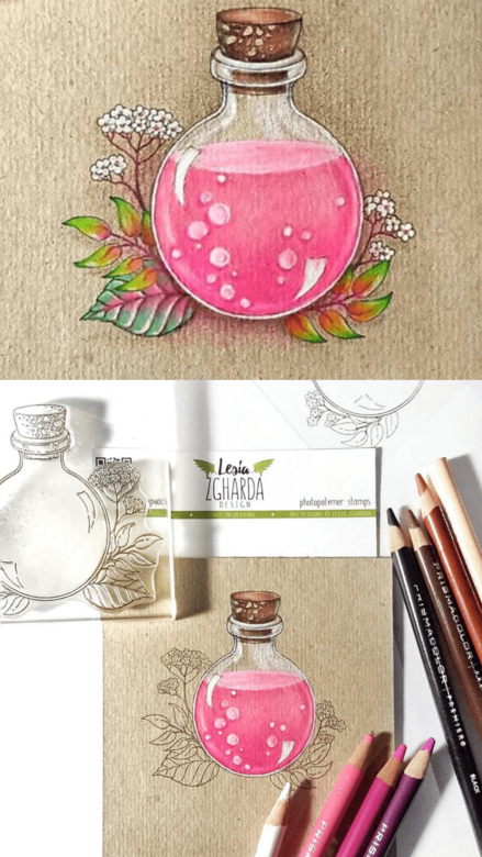 Beautiful card ideas with Jar and flowers Stamp Set | Lesia Zgharda clear stamps. A lot of the flower stamps, jar stamp, sentiment stamps, jar of love stamp set, leaf stamp, floral stamp ideas, and others clear stamp you can find in the store lesia.zgharda.com Welcome!