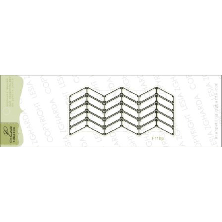 "{F118b} Stamp ""Parquet with nails (contour)"""