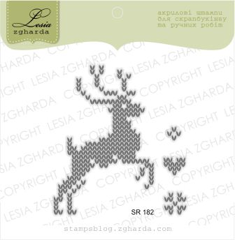"{SR182} Stamp Set ""Deer"""