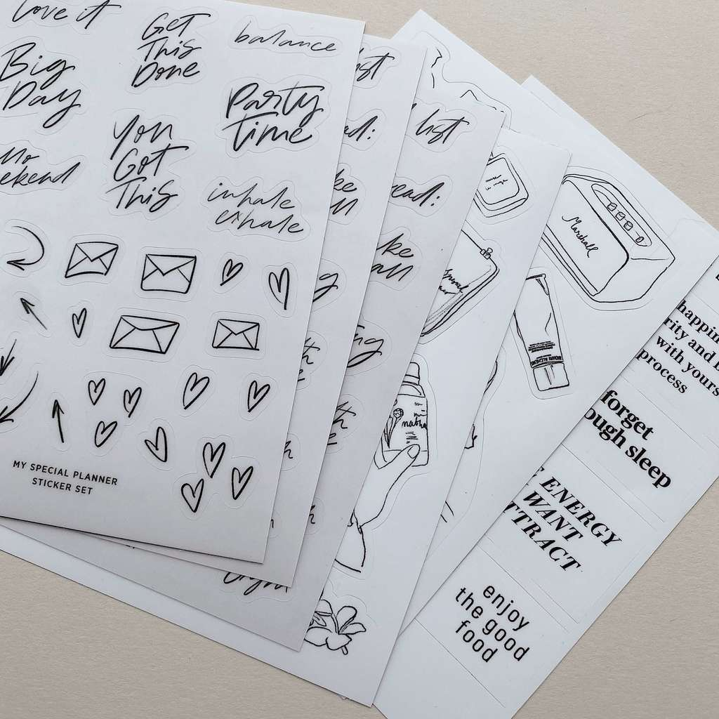 Lifestyle Sticker Set