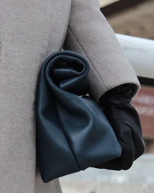 Minimalism in bags Сlutch Dark Green (Темно-зеленый)