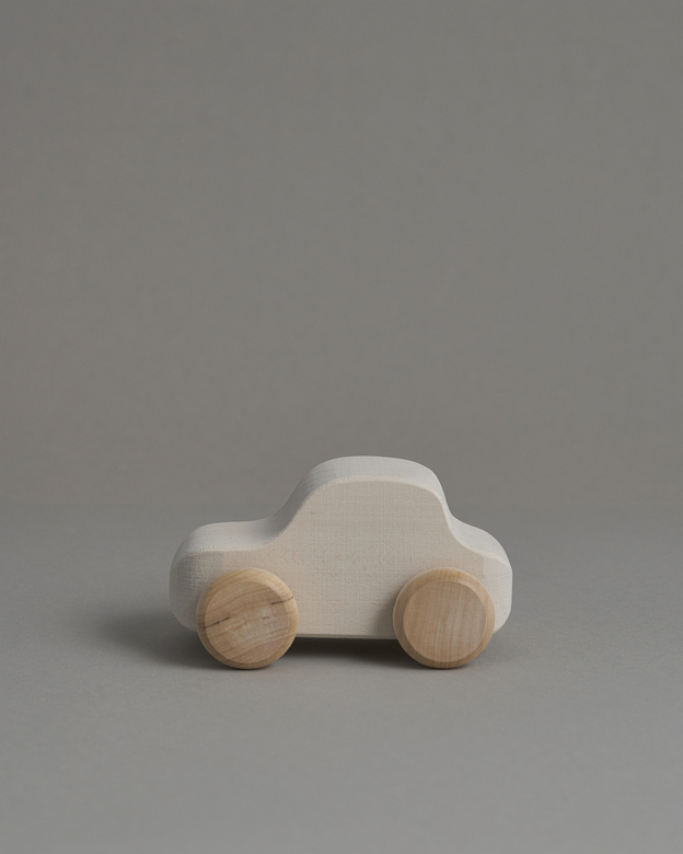 Toy car white
