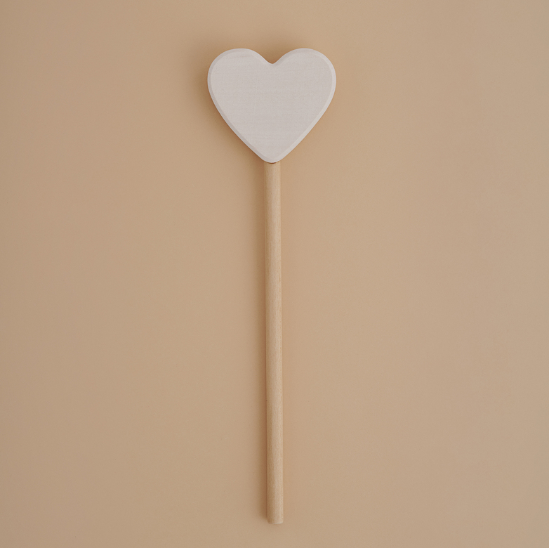 Magic wand heart