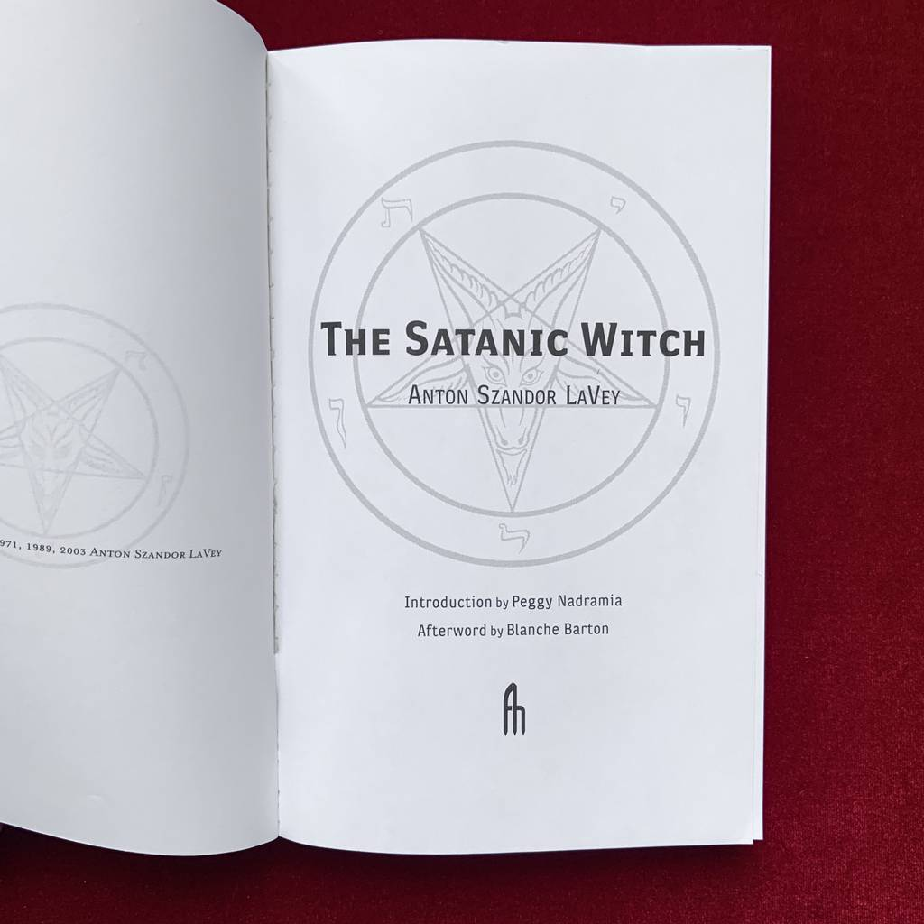 The Satanic Witch | Anton Szandor LaVey