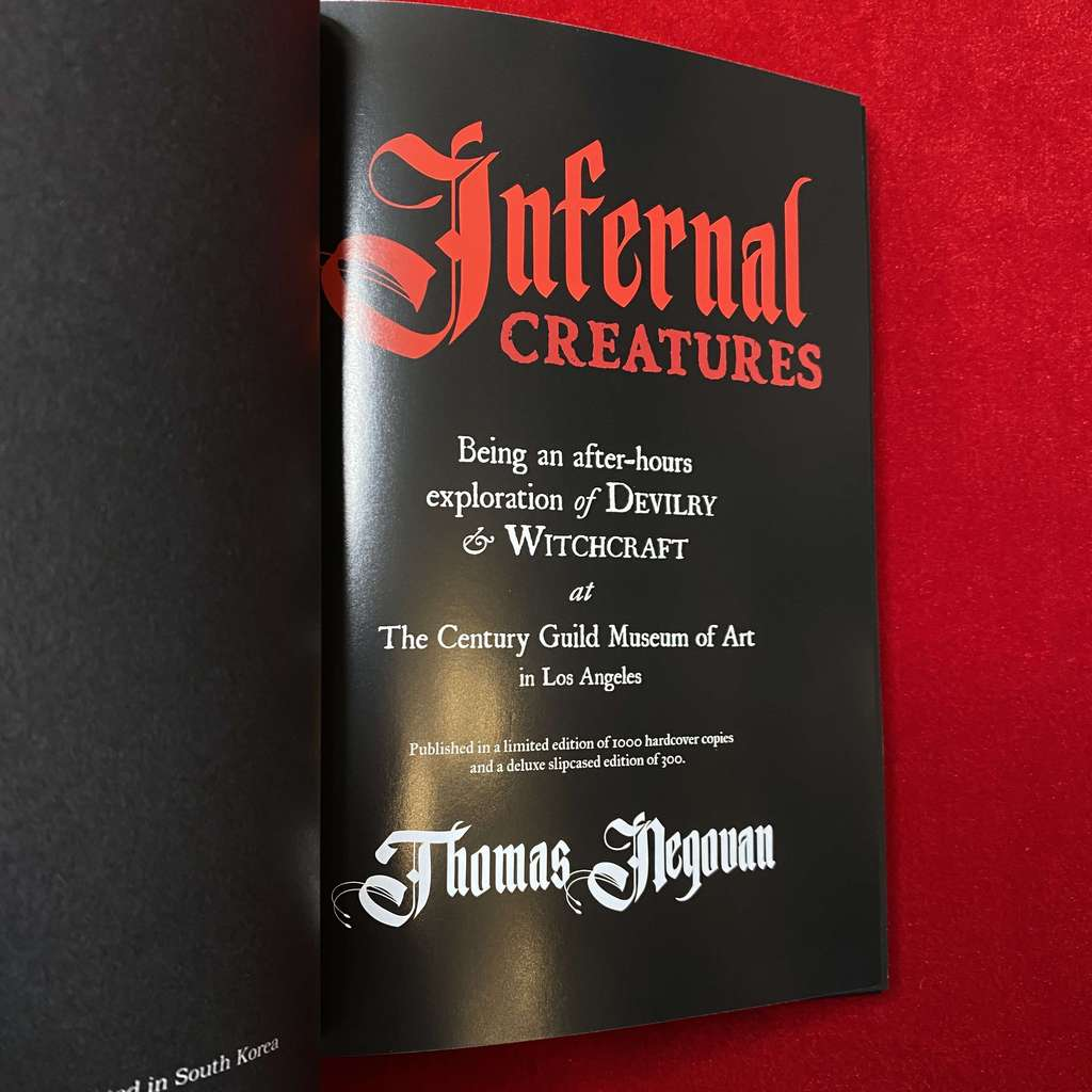 Infernal Creatures: A Collection of Rare Occult Artworks 1880-1970