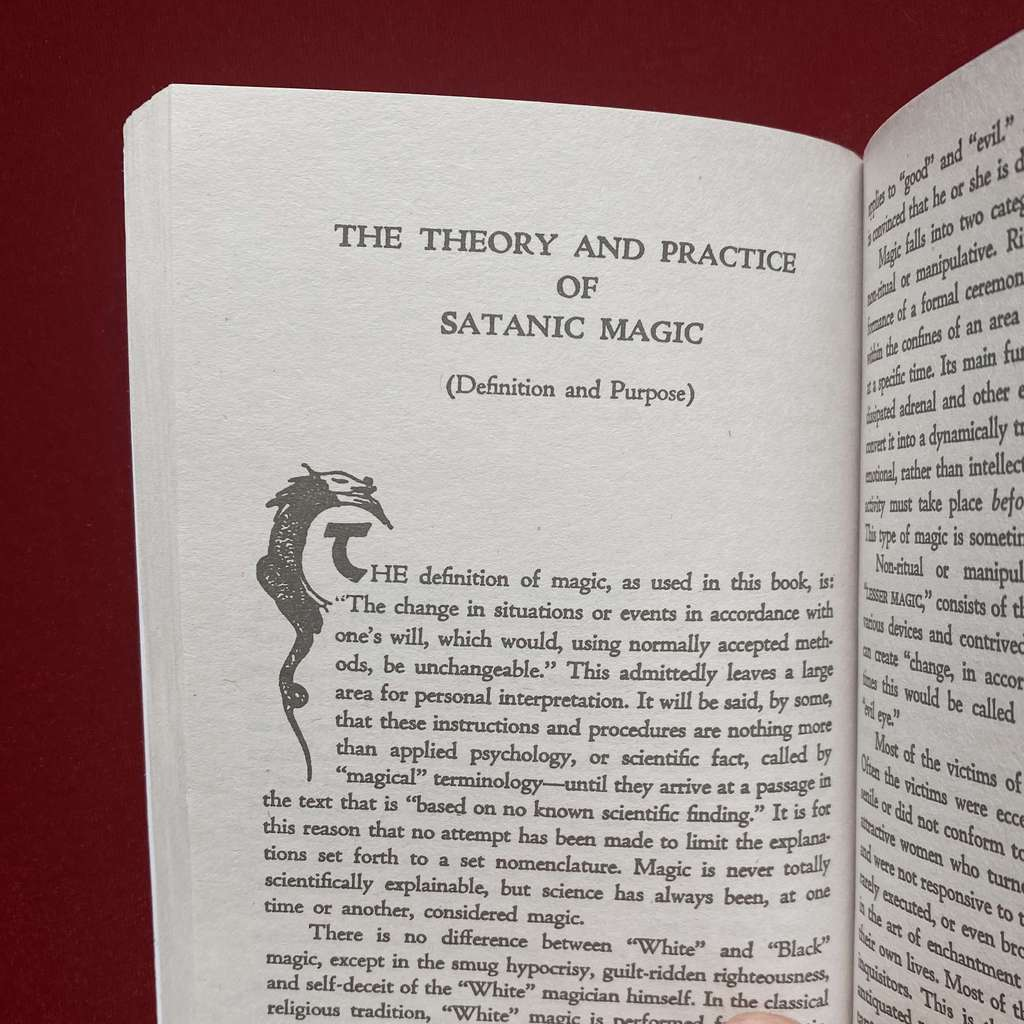 The Satanic Bible | Anton Szandor LaVey