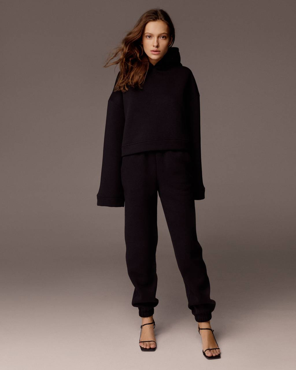 Fleece cotton oversize suit - 330 USD / 275 EUR