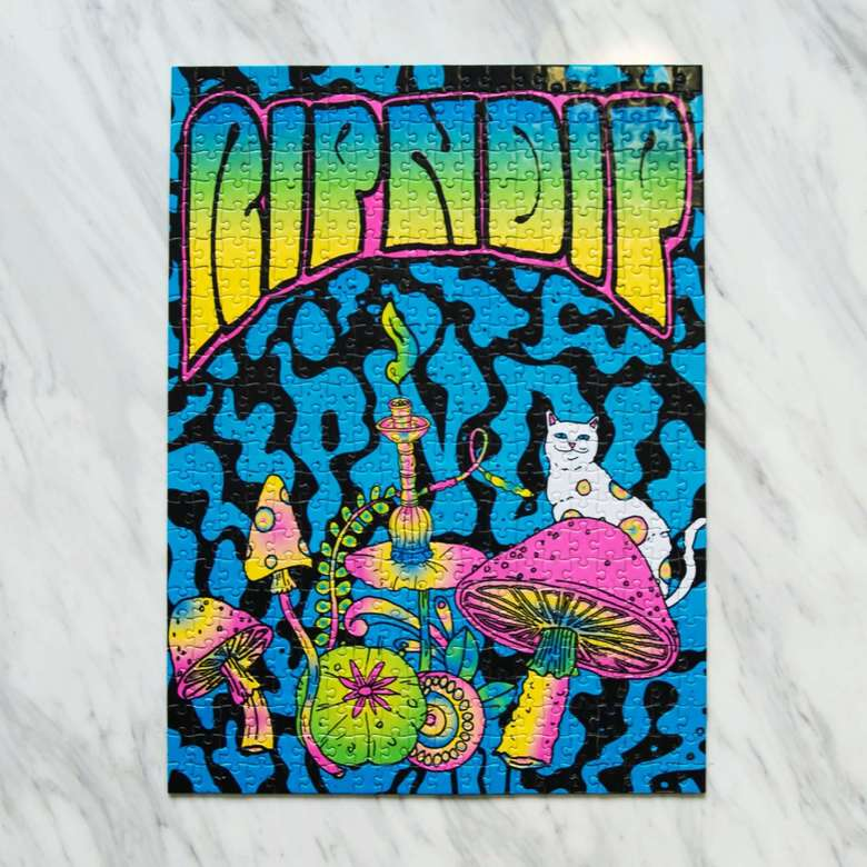 Пазл RIPNDIP Psychedelic Puzzle 500 Pc Puzzle