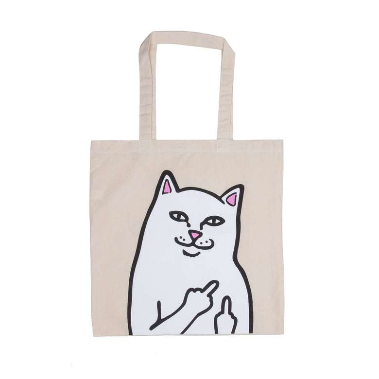 Сумка шоппер RIPNDIP Lord Nermal Tote Bag