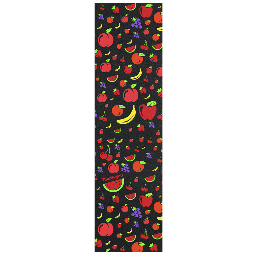 Шкурка Thank You Skateboards Fruit Salad Grip Pack Black