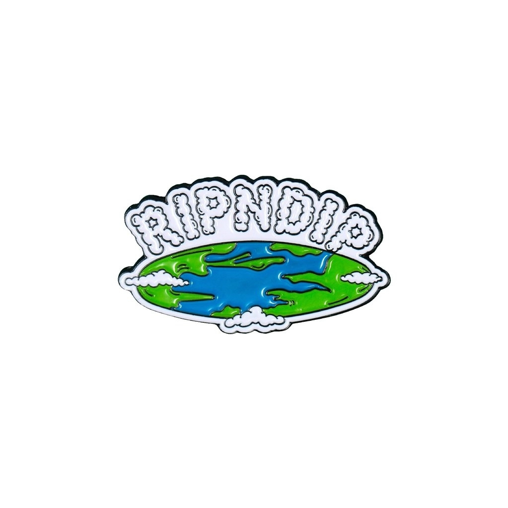 Значок RIPNDIP Flat Earth Pin
