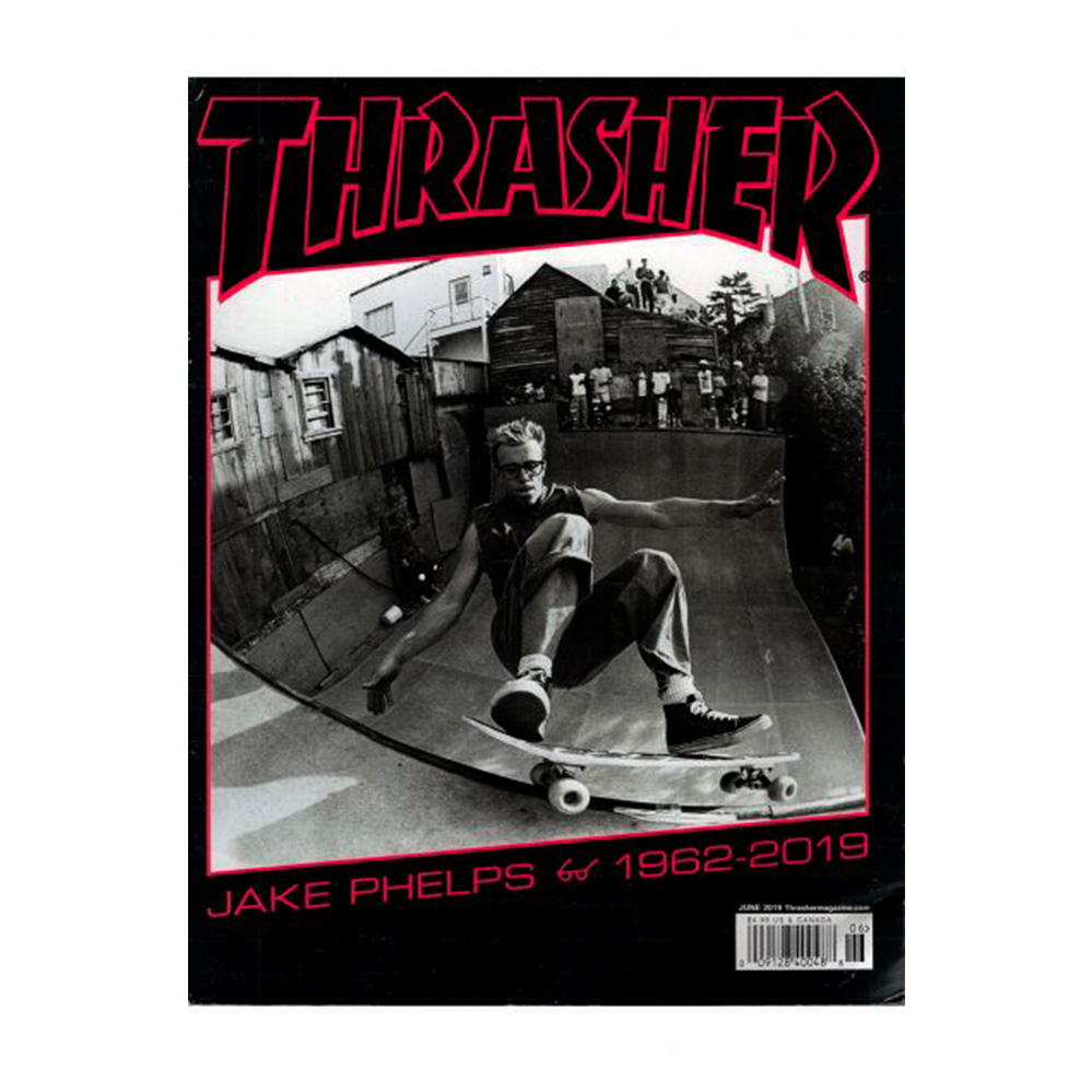 Скейтборд Журнал Thrasher Magazine Июнь 2019
