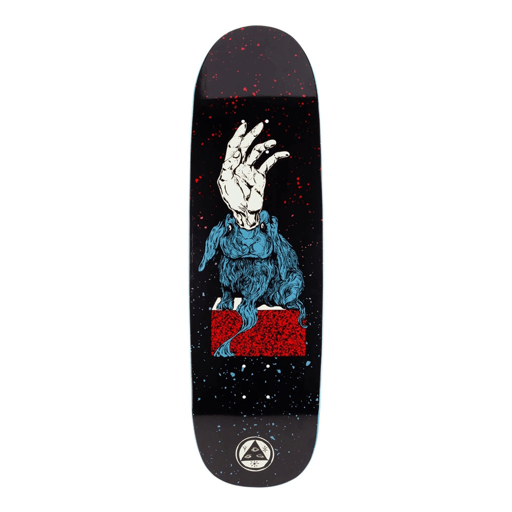 Дека Welcome Magic Bunny on Boline Black Red Blue 9,25