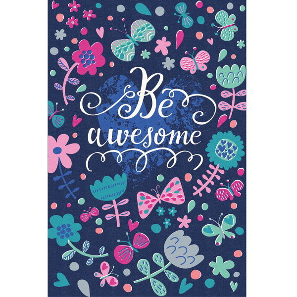Be awesome - открытка