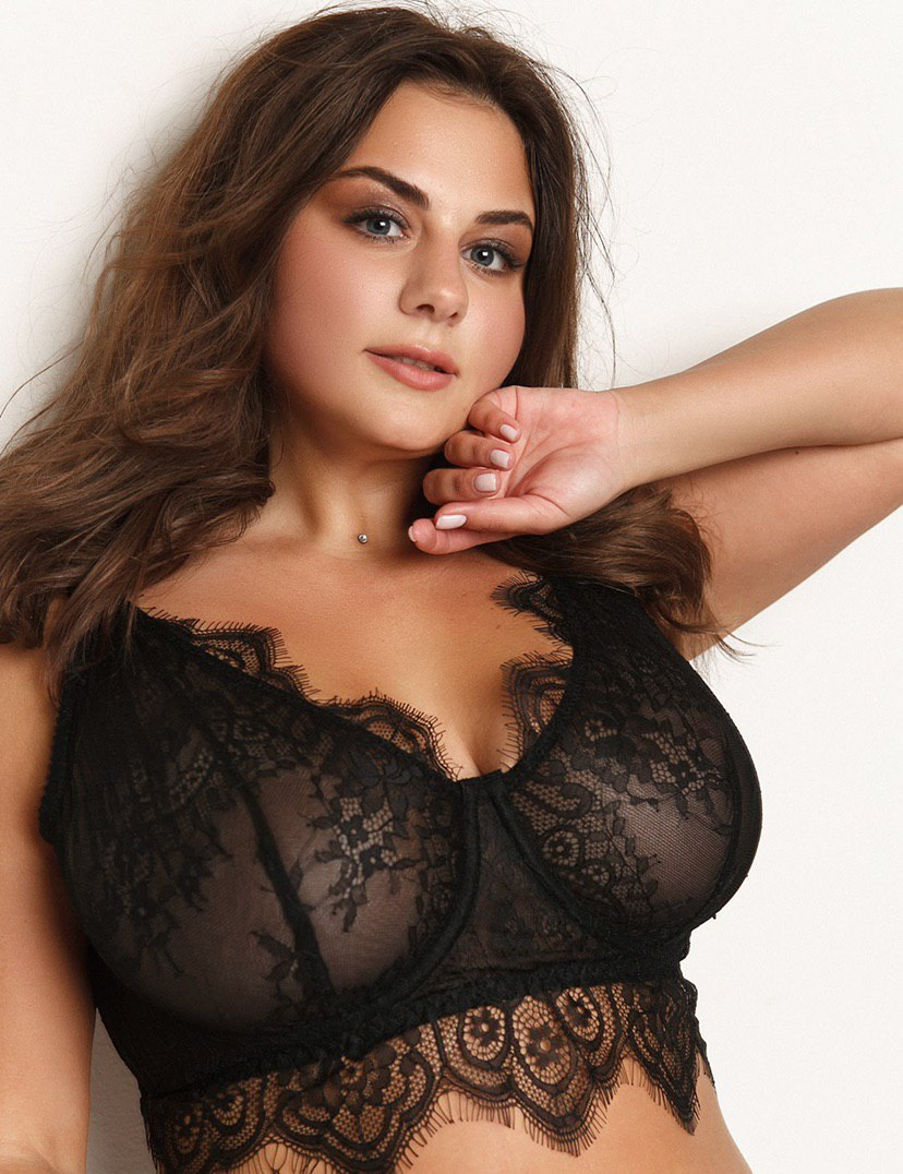 FRANCESCA BLACK wire bra