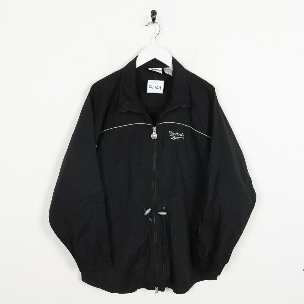 Винтажная олимпийка REEBOK Small Logo Windbreaker Top Jacket Black