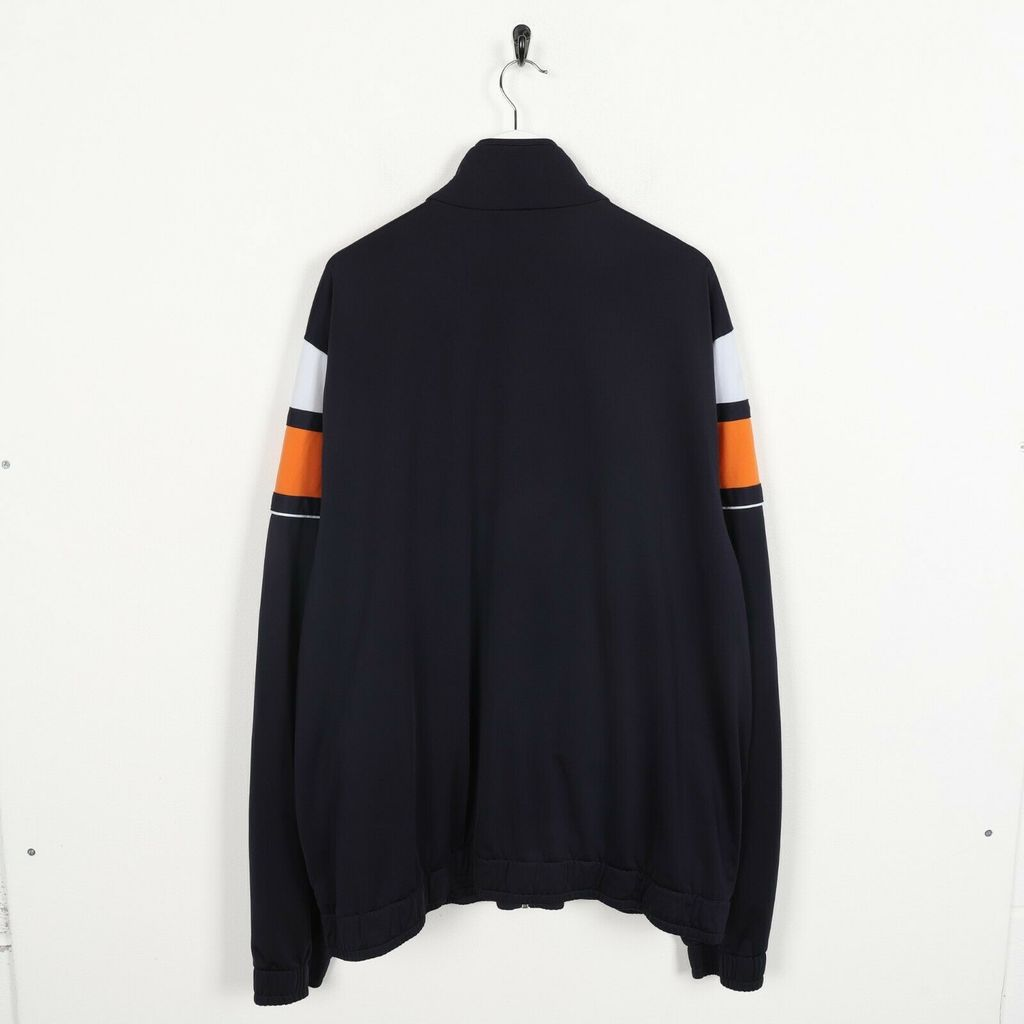 Винтажная олимпийка  PUMA Small Logo Zip Up Track Top Navy Blue