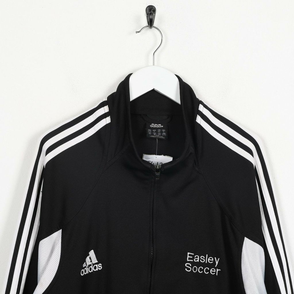 Винтажная олимпийка ADIDAS Small Logo Track Top Jacket Black