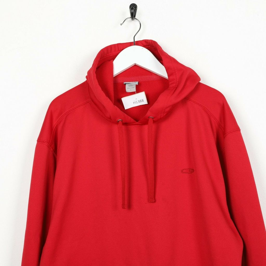 Винтажное худи CHAMPION C9 Polyester Small Logo Red