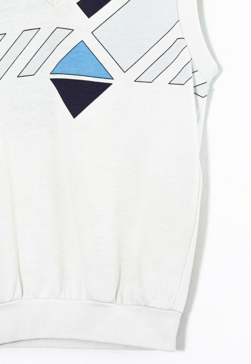 Винтажная жилетка 80s ADIDAS ORIGINALS Ivan Lendl Vest Gilet Top White