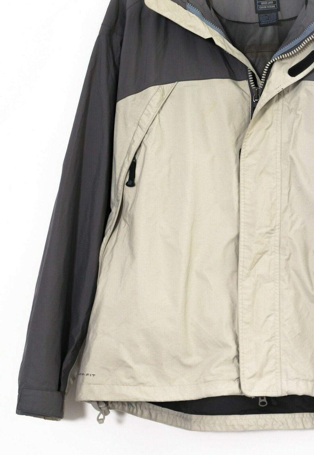 Винтажная куртка 90s NIKE ACG Shell Windbreaker Beige Grey