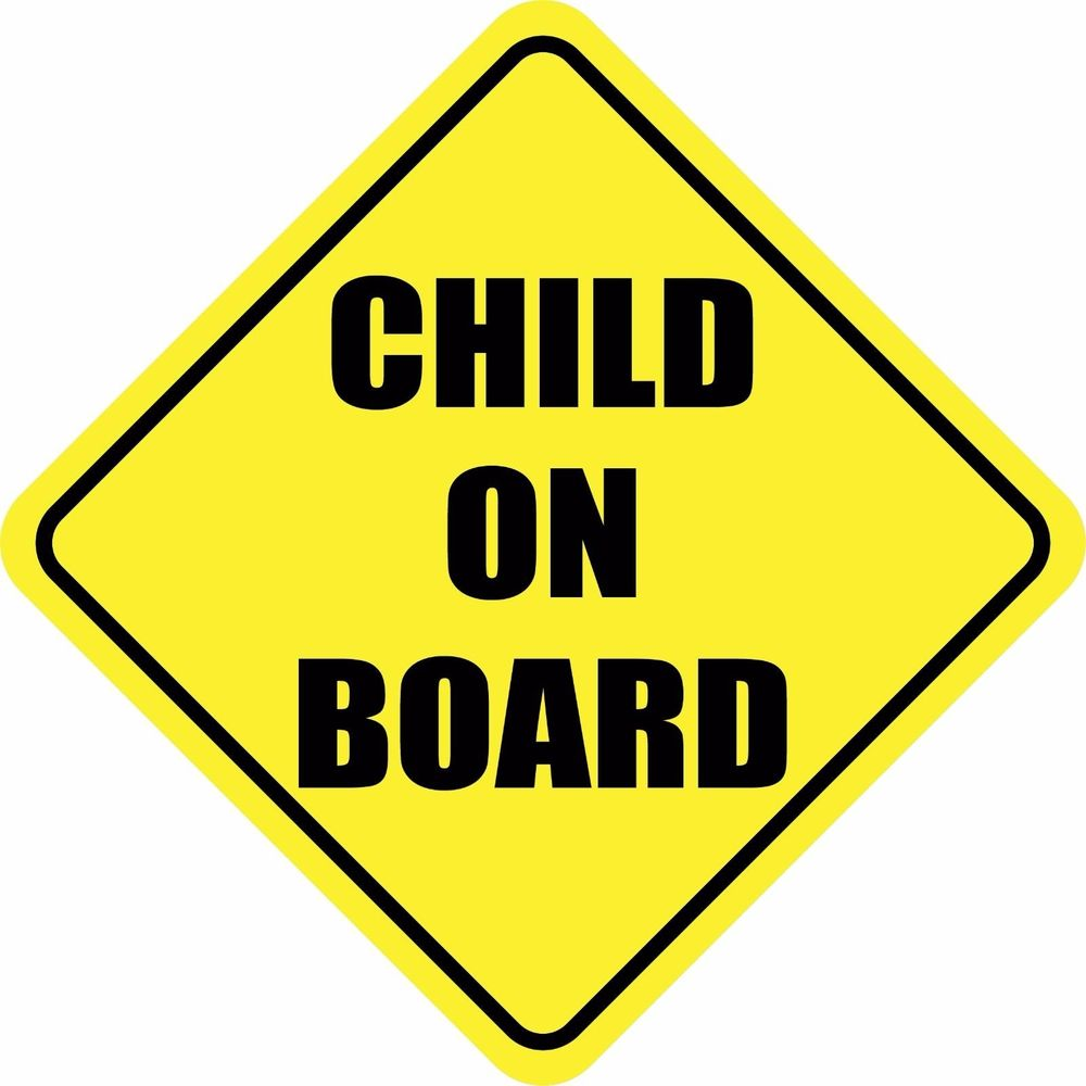 """BABY ON BOARD and LITTLE PRINCESS ON BOARD Sticker Decal Sign 5.8/""""x5.8/"""""""