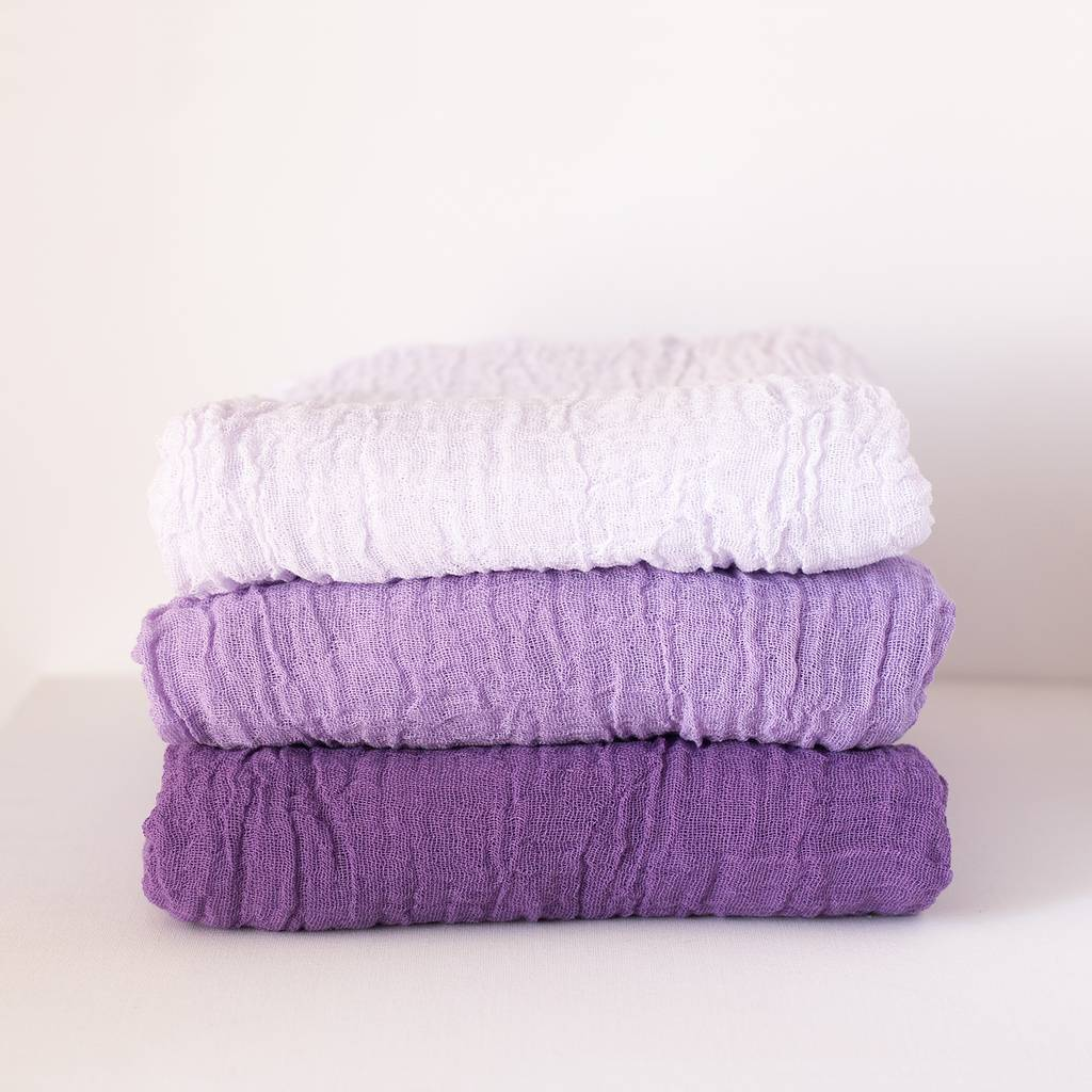 Lilac set (Gauze 3 colors)