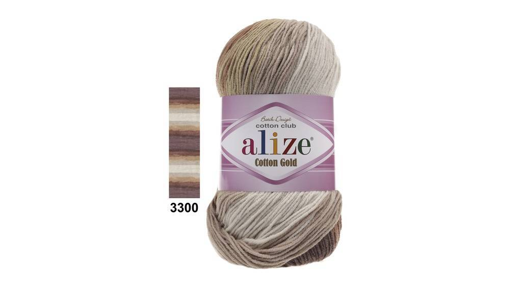 <b>Cotton Gold Batik Alize</b>