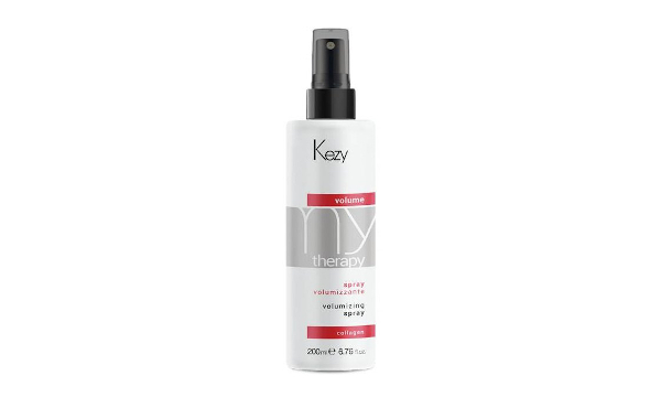 Kezy Mytherapy Volumizing Spray Спрей для придания объема с морским коллагеном экстрактом бамбука и UV фильтром  200 мл
