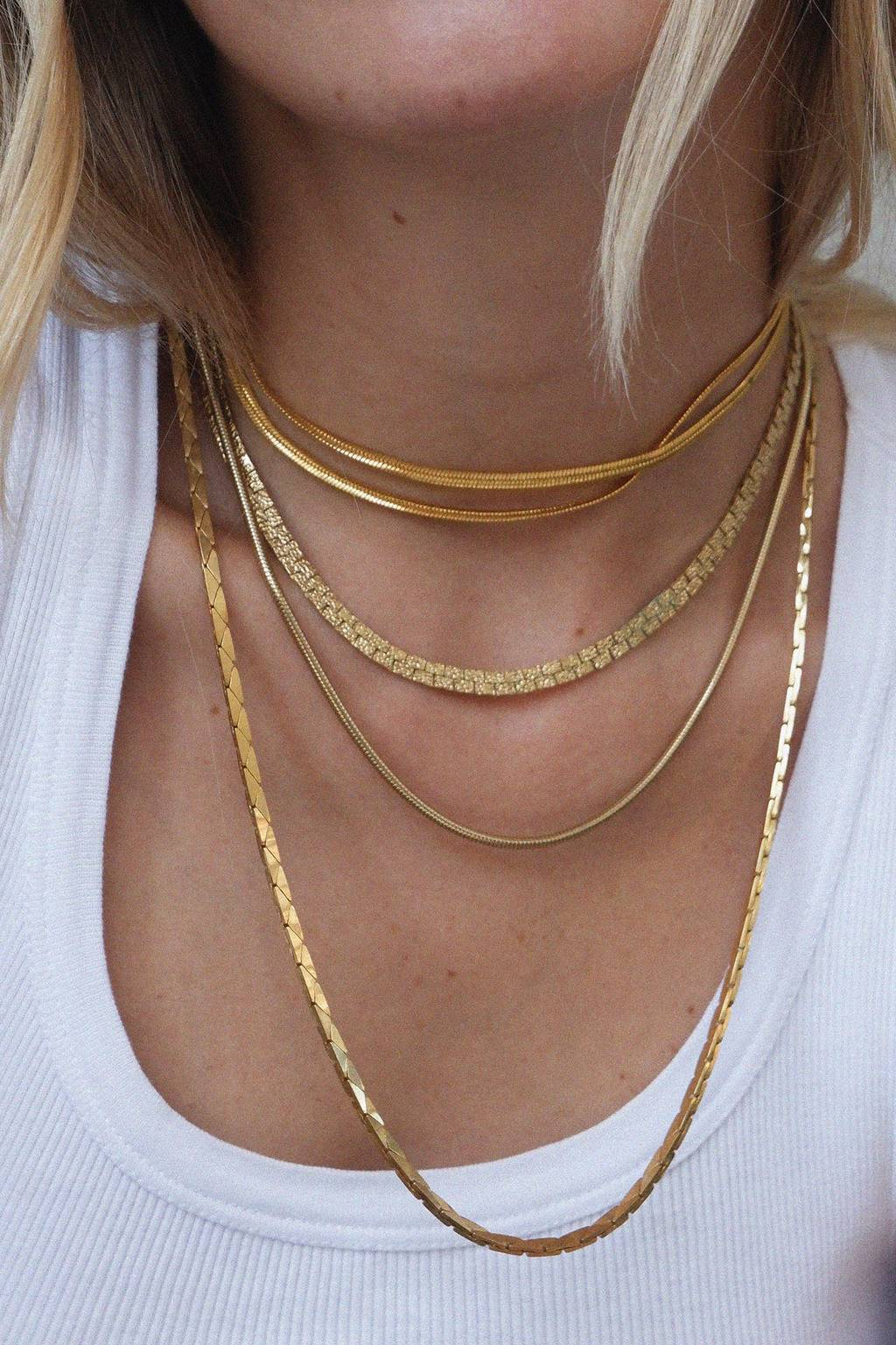 1990S GOLD FILLED CHAINS