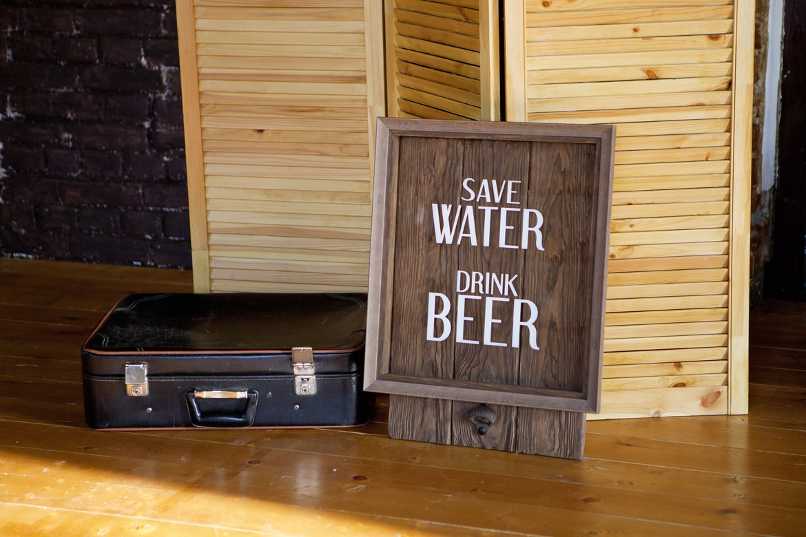 Копилка Save water Drink beer