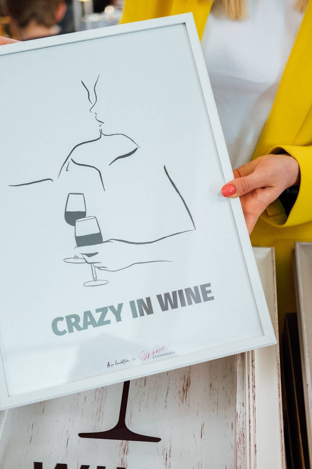 "Постер ""Crazy in wine"""